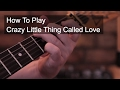 Crazy Little Thing Called Loved by Queen - Chords