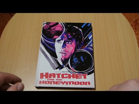 HATCHET FOR THE HONEYMOON BluRay Mediabook Wicked Vision Mario Bava Unboxing Cover A