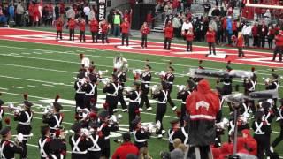 Ohio State Marching Band Entire Pregame incl Script Ohio OSU vs Mich St 11 21 2015