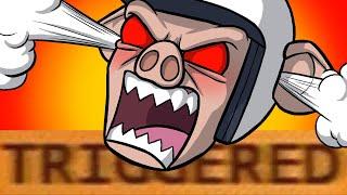 TRIGGERING WILDCAT!! - Mario Kart 8 Deluxe Funny Moments