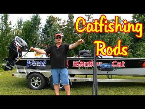 Video Catfish fishing poles
