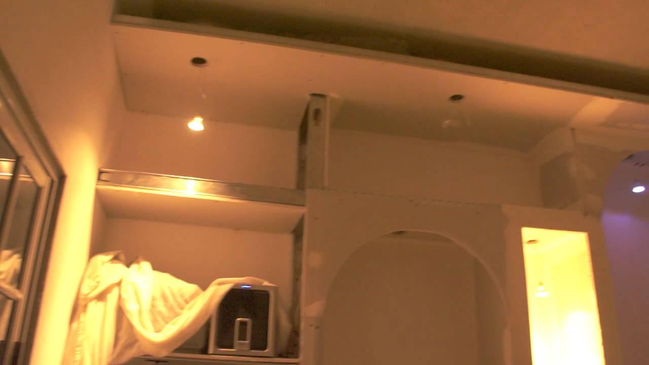 Mueble de placa de yeso youtube - Placas de yeso para pared ...