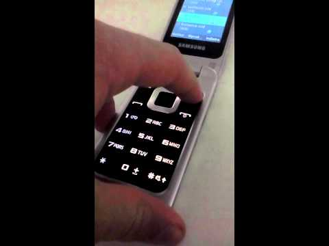 Samsung C3520i MIDI test (with Siemens ringtones)