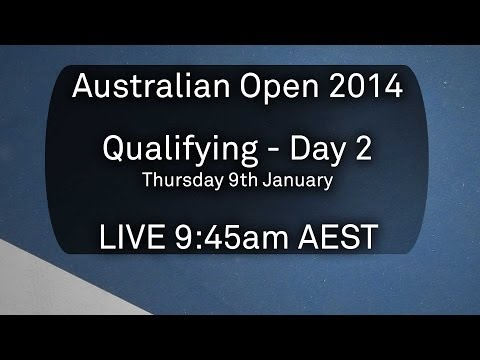 Day 2 Qualifying - Australian Open 2014