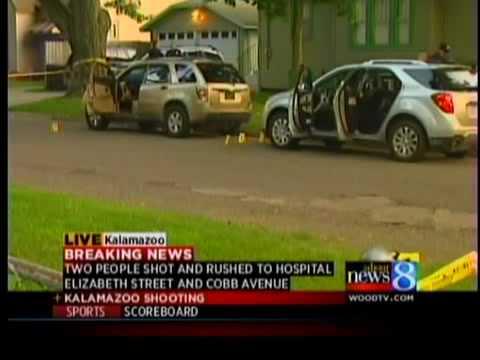Man, Woman Shot In Kalamazoo