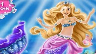 NEW Мультик онлайн для девочек—Рапунцель стала русалкой—Игры для детей