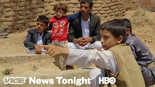 This Yemeni Boy Survived An Airstrike That Killed 45 Kids (HBO)