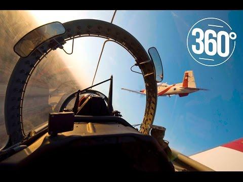 מטס חיל האוויר - יום העצמאות ה-68 (סרטון 360)