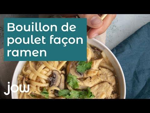 """recette-au-ramen-:-""""le-bouillon-de-poulet-façon-ramen"""""""