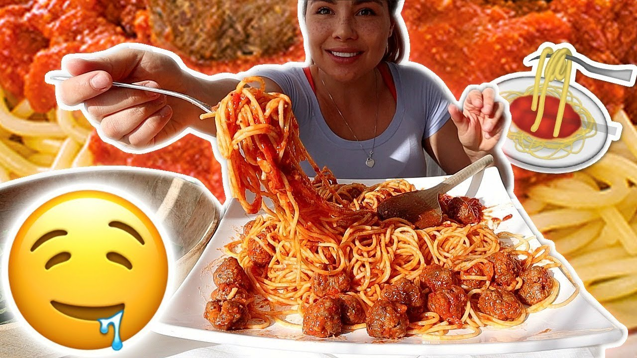 the-best-meatball-and-spaghetti-recipe-먹방-mukbang-cooking-eating-show