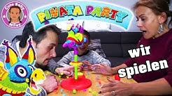 PINATA PARTY SPIEL | Bunte Jagd nach den tollen Preisen! | CuteBabyMiley
