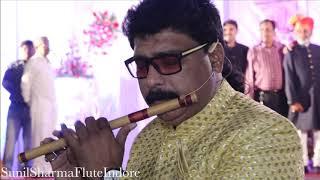 Tum Agar Sath Dene Ka Wada   Flute Instrumental live   Best Wedding Event   Sunil Sharma Indore