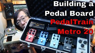 Building a pedalboard with The Pedal Train Metro 20 and TC Electronic pedals