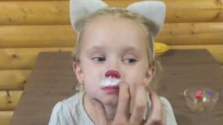 Как сделать краску для детского грима.