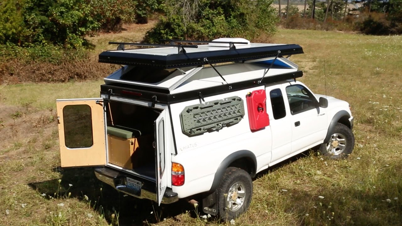 Hiatus Campers Hard-Walled Hand Build Popup Truck Camper