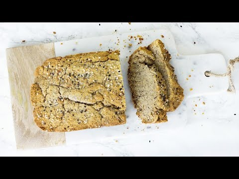 Paleo Bread Recipe! Easy And Quick! Low Carb Paleo Recipes!