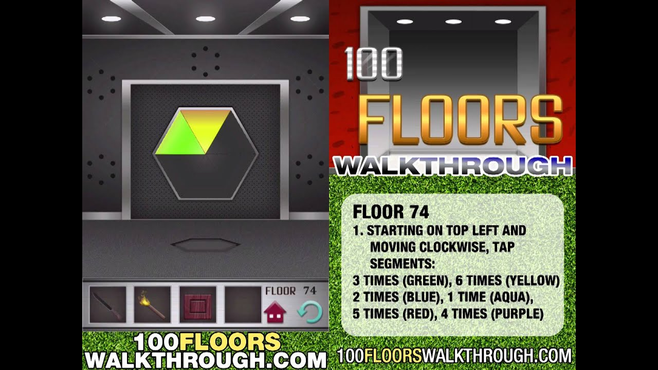 Floor 74 Walkthrough 100 Floors Walkthrough Floor 74