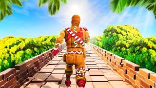 NEW FORTNITE TEMPLE RUN GAMEMODE