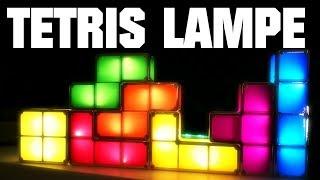 Unboxing | TETRIS Lampe zum selber zusammenbauen thumbnail