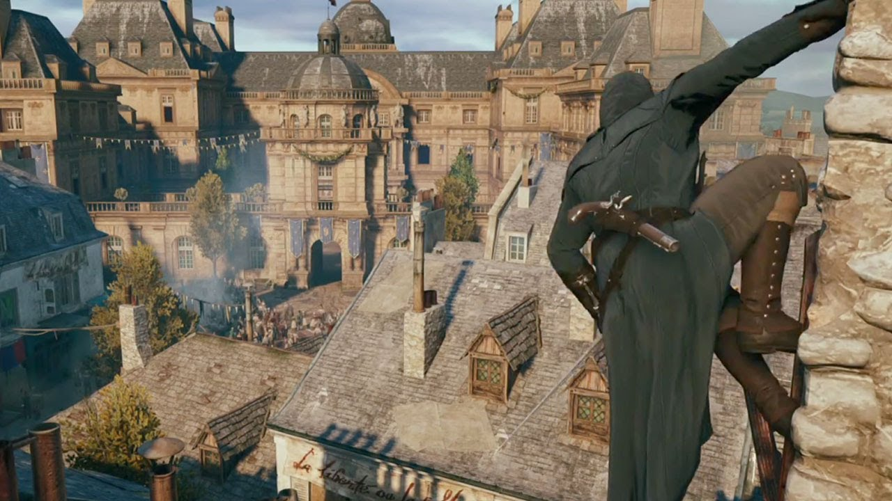 Assassin S Creed Unity E3 Co Op Gameplay Youtube