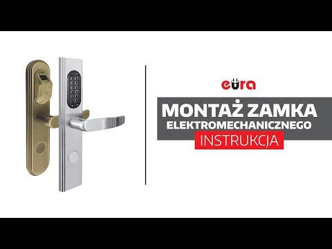 Jak zamontować zamek elektromechaniczny?   Eura-Tech