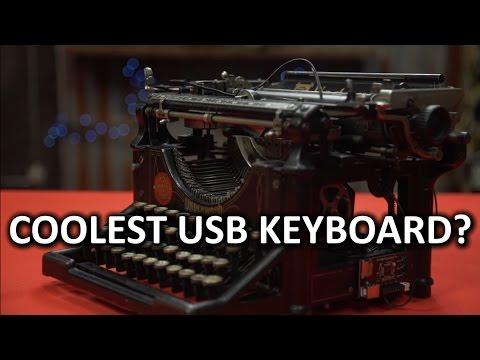 21st Century Utility, 19th Century Swagger - DIY USB Typewriter