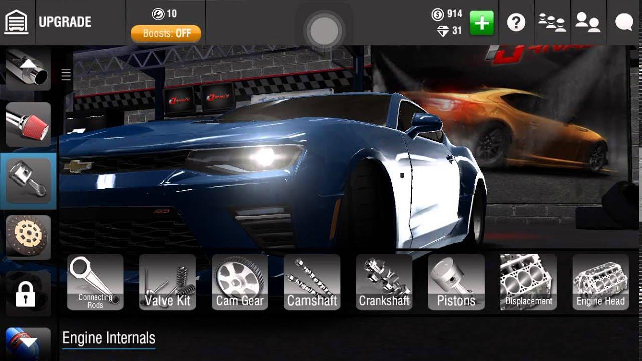 Racing rivals 2016 chevy camaro ss maxed setup tutorial