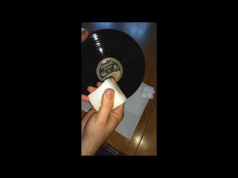 FINAL METHOD: How To Clean Heavily Soiled Diamond Discs Records with Amazing Results!!