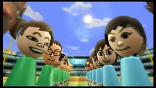 Wii Sports - Baseball: Guest A VS. Guest E
