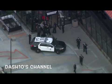 Los Angeles Police Chase Amber Alert Suspect through Venice Beach (April 26, 2017)