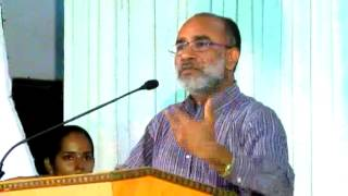 Shri Alphons Kannanthanam (IAS Resigned) , at the inauguration of ACE Leaders of Tomorrow