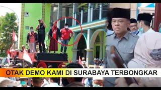 Terbongkar Otak Pembubaran Deklarasi KAMI di Surabaya, Benarkah Partai Merah?