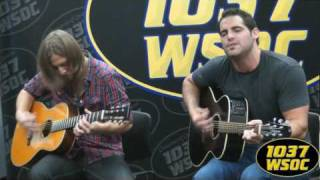 "103.7 WSOC: Blake Wise sings ""Cornfields"""