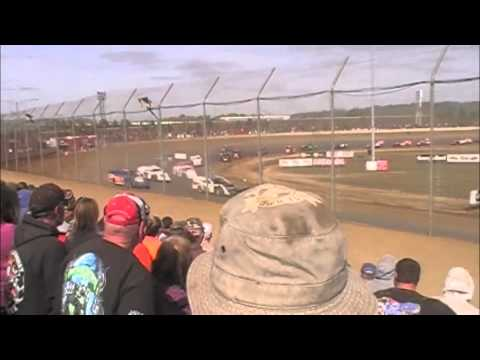 Portsmouth Raceway Park Modified Dirt Track World Championship Feature 10-19-14