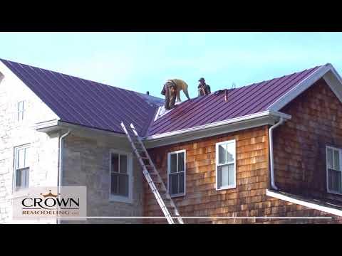 Crown Remodeling Time Lapse Metal Roof Replacement