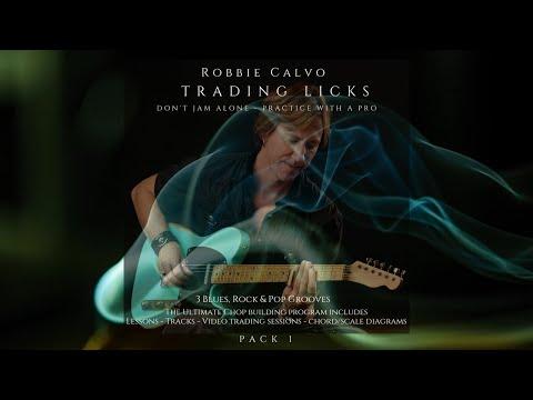 ROBBIE CALVO - TRADING LICKS PACK 1 - A MIXOLYDIAN & A9 ARPEGGIOS - DEMO