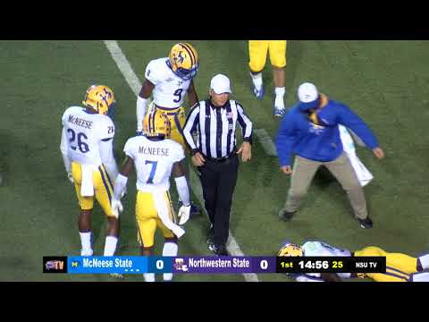 Northwestern State Demons vs McNeese State - Saturday, November 10, 2018