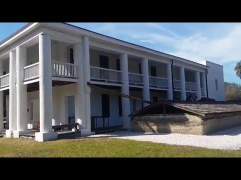 Gamble Plantation Mansion 1844 in Ellenton