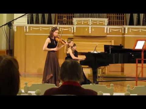 Maryana Osipova | Chausson | Poeme | 3rd Yankelevitch International Violin Competition