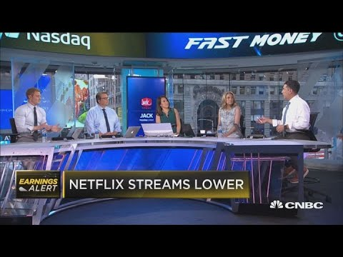 Netflix isn't growing as fast as Wall Street wants and the stock gets hit