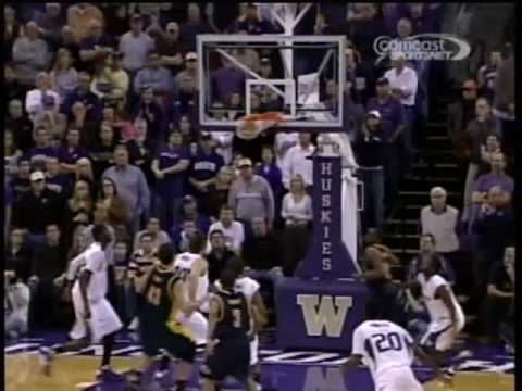 Cal vs. Washington MBB Jan. 10, 2009 - End of the 2nd OT
