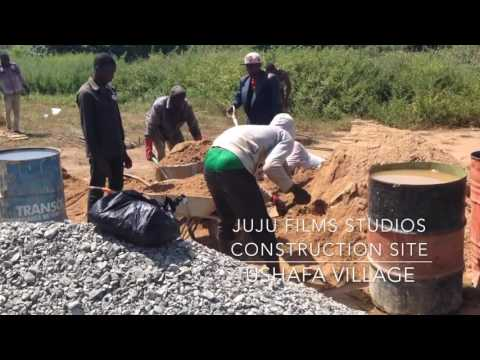 Juju Films Studios & Home Office Worksite in Ushafa Village