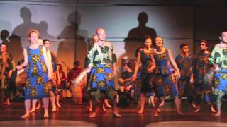 Alfred Ladzekpo Farewell Concert 2011 Agbekor Part 2