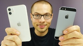 iPhone SE vs iPhone 11 Speed Test!