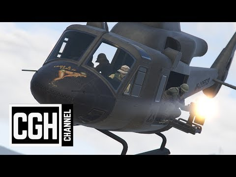 Aircraft's Weapons Test - GTA Online