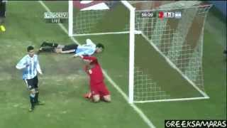Argentina vs Portugal.2-1 All Goals & Highlights HD 09/02/2011