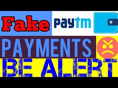 Fake PayTM money transfer mobile Apps in india, paytm hacking