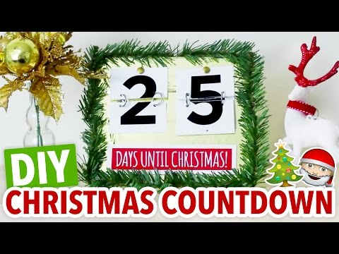 DIY Christmas Countdown ~ Easy Holiday Calendar - HGTV Handmade
