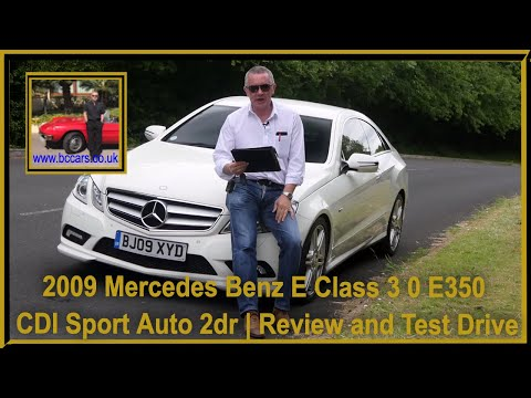 review-and-virtual-video-test-drive-in-our-2009-mercedes-benz-e-class-3-0-e350-cdi-sport-auto-2dr-bj