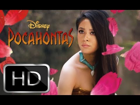 Pocahontas live action trailer (2019) Shay Mitchell, Chris Hemsworth (Fanmade)